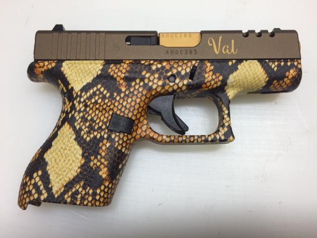 snakeskin pistol